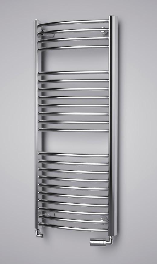 ISAN Spira Radius vodný kúpeľňový radiátor
