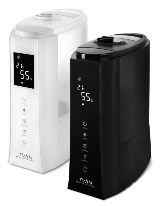Airbi TWIN ultrazvukový zvlhčovač vzduchu, Biela