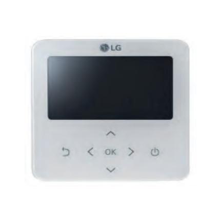 PREMTB100 káblový ovládač klimatizácie LG biely