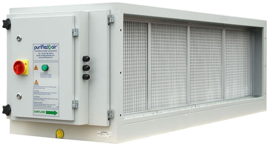 Purified Air ESP 6000 EI elektrostatický zachytávač častíc