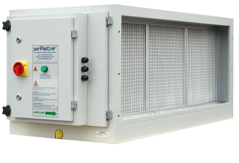 Purified Air ESP 4500 EI elektrostatický zachytávač častíc