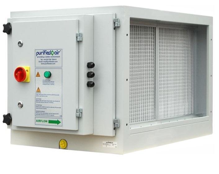 Purified Air ESP 3000 EI elektrostatický zachytávač častíc