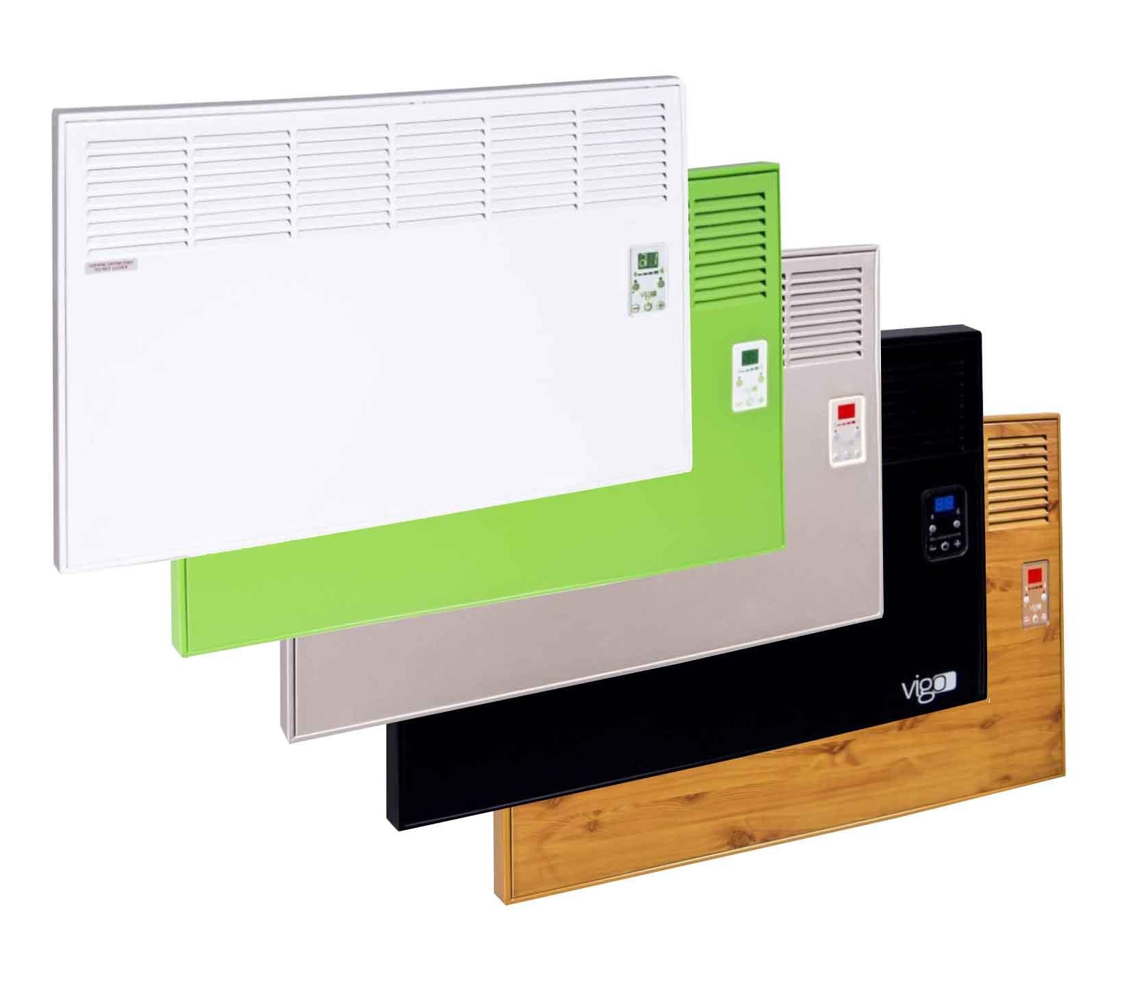 Vigo EPK 4570 E10 1000 W elektrický konvektor, Drevo