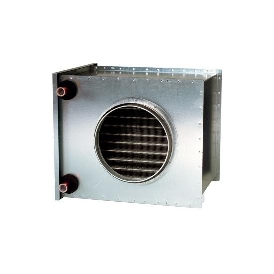 Systemair VBC 125-2 vodný ohrievač pre kruhové potrubie
