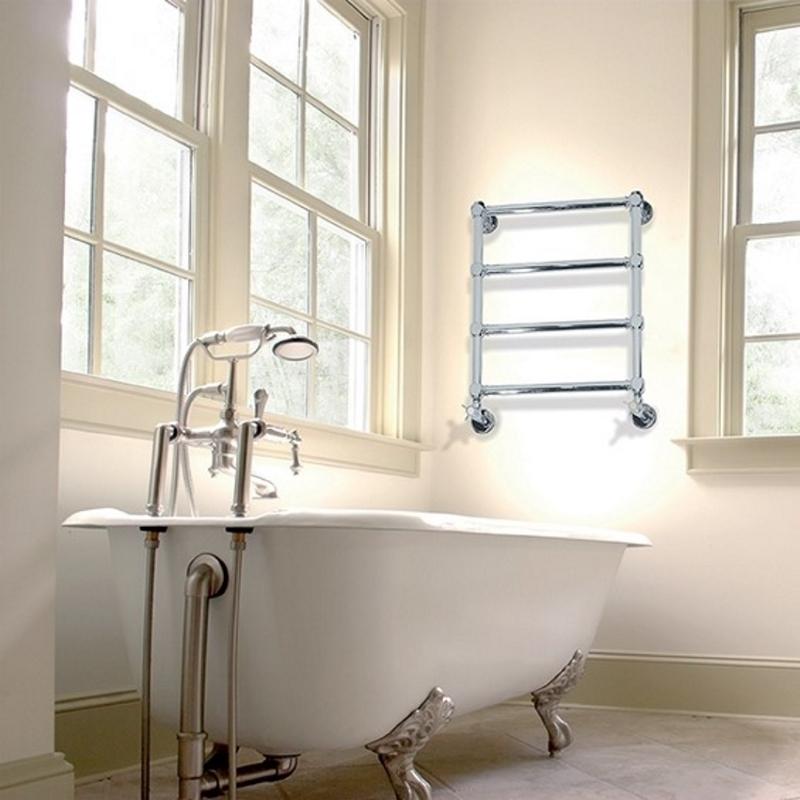 IRSAP Minuette chrómový vodný kúpeľňový radiátor