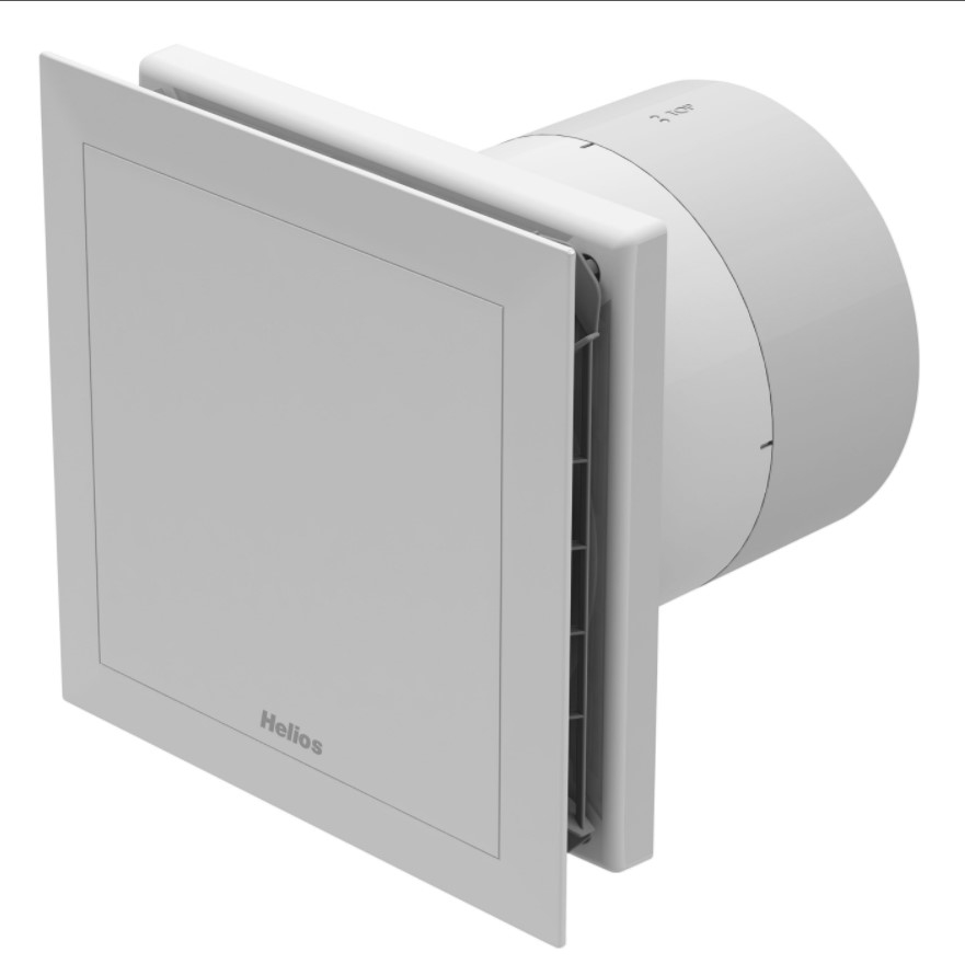 Helios MiniVent M1/150 N/C dvojotáčkový ventilátor s dobehom a interv. prevádzkou