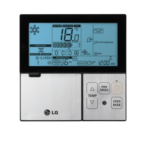 PREMTBB01 káblový ovládač klimatizácie LG čierno biely