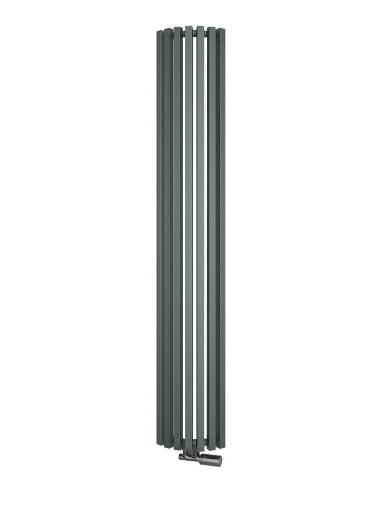 ISAN Octava Radius vodný radiátor do rohu