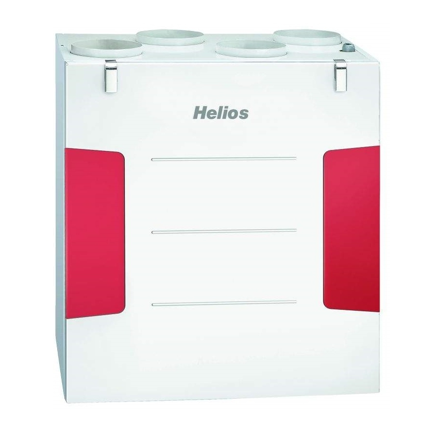 Helios KWL EC 500 W rekuperačná jednotka