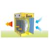 Master B 2 PTC domáci elektrický ohrievač s ventilátorom schéma