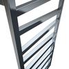 TERMA Zigzag kúpeľňový radiátor detail - chróm
