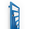 TERMA Angus V dizajnový radiátor 1620x600 RAL5015 detail - geometricky radené profily
