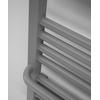 TERMA Lima kúpeľňový radiátor RAL7042 detail