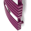 TERMA Kioto dizajnový radiátor RAL4010 detail zboku