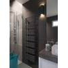 TERMA Alex ONE dizajnový radiátor 1140x600 farba Modern Grey inšpirácie - kúpeľňa