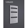 TERMA Dexter kúpeľňový radiátor RAL9016 1200x600