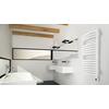 TERMA Dexter elektrický kúpeľňový radiátor 860x500 RAL9016 - moderný dizajn do interiéru
