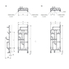 TERMA Pajak dizajnový radiátor Schéma k montáži