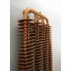 TERMA Ribbon V retro radiátor - farba Copper - detail