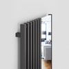 TERMA Triga M dizajnový radiátor so zrkadlom 1700x780 Modern Grey detail
