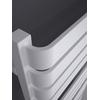 TERMA Warp T dizajnový radiátor 1110x500 RAL 9016 detail