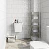 TERMA Outcorner rohový radiátor do kúpeľne veľkosť  1005x300
