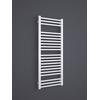 TERMA Bone kúpeľňový radiátor 1260x500 - Ral 9016