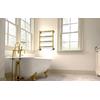 IRSAP Minuette chrómový kúpeľňový radiátor 682x570 farba Zlato