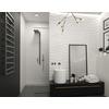 TERMA Zigzag kúpeľňový radiátor 1310x500 - farba Metallic Grey -inšpirácie