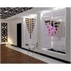 TERMA Angus DW dizajnový radiátor 1300x440 farba RAL9016 - deliaca stena - luxusný dizajn