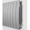 TERMA Camber vodný radiátor pod okno 575x800 farba Sal&Pepper - z boku