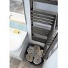 TERMA incorner rohový radiátor  umiestnenie v interiéri