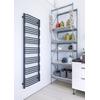 TERMA Alex ONE dizajnový radiátor 1580x500 farba Modern Grey inšpirácie - kuchyňa
