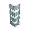 TERMA Outcorner elektrický rohový radiátor farba Winter Sky
