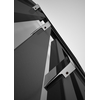 TERMA Angus V dizajnový radiátor  farba Modern Grey detail+ háčiky Zip