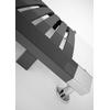 TERMA Dexter kúpeľňový radiátor Sparkling Gray detail