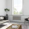 TERMA Delfin dizajnový radiátor pod okno farba Soft White