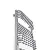 TERMA Pola elektrický kúpeľňový radiátorr - chróm - detail