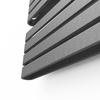 TERMA Warp S dizajnový radiátor 1110x500 farba Salt and Pepper - detail