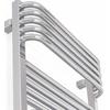 TERMA Pola elektrický kúpeľňový radiátor - chróm - detail