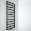 TERMA Zigzag kúpeľňový radiátor 1310x500 - farba Heban - inšpirácie