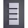 TERMA Warp S dizajnový radiátor 1110x500 RAL 9016