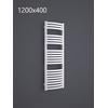 TERMA Dexter kúpeľňový radiátor RAL9016 1200x400
