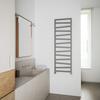 TERMA Zigzag kúpeľňový radiátor 1545x500 farba Metallic Stone - inšpirácie