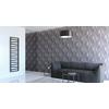 TERMA Zigzag kúpeľňový radiátor 1780x500 - farba Soft 9005 - inšpirácie