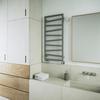 TERMA Zigzag kúpeľňový radiátor 1070x500 farba Metallic Stone interiér