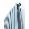 TERMA Nemo dizajnový radiátor 530x915 farba Pastel Blue detail