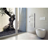 TERMA Dexter kúpeľňový radiátor 860x500 RAL9016 - moderný interiérový dizajn
