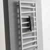 TERMA Zigzag kúpeľňový radiátor RAL9016 - aj na sušenie textilu