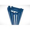 TERMA Triga ANC dizajnový rohový radiátor RAL 5002 - detail
